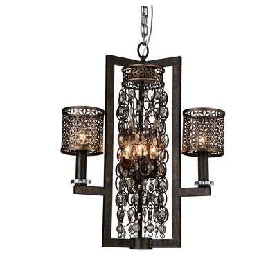 Pollett 6-Light Candle-Style Chandelier