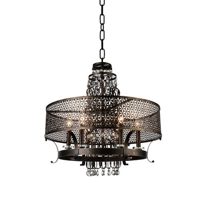 Pollett 8-Light Drum Chandelier