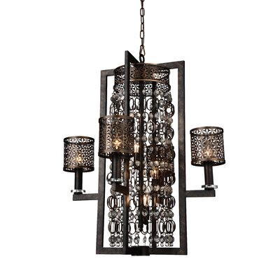 Pollett 8-Light Candle-Style Chandelier