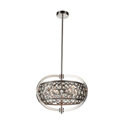 Wallula 5-Light Drum Chandelier