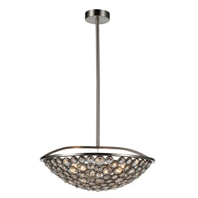 Wallula 5-Light Bowl Pendant