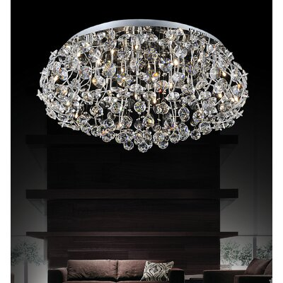 Josie 15-Light Flush Mount
