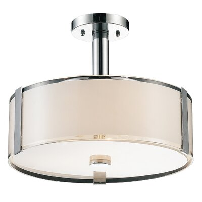 Lucie 4-Light Drum Chandelier
