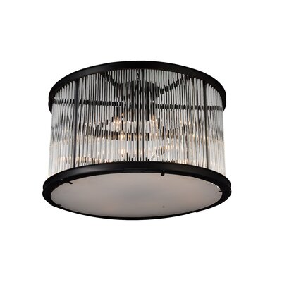 Mira 12-Light Semi Flush Mount