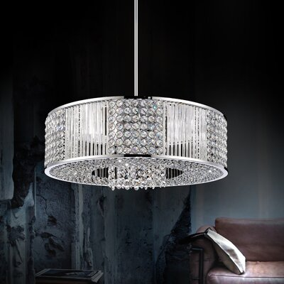 12-Light Drum Chandelier