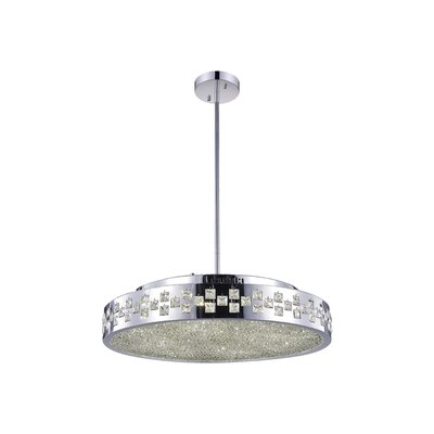 10-Light Drum Pendant