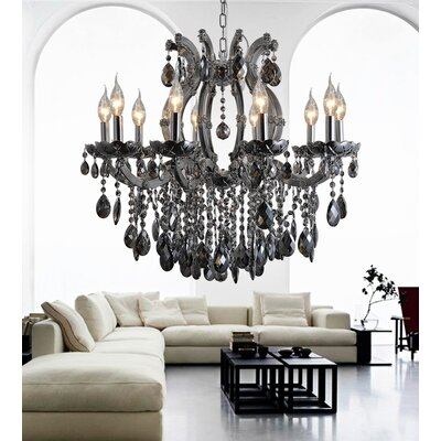 10-Light Candle-Style Chandelier