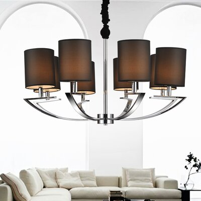 8-Light Drum Chandelier