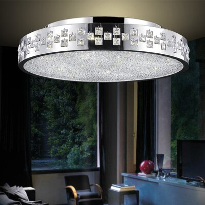 12-Light Flush Mount