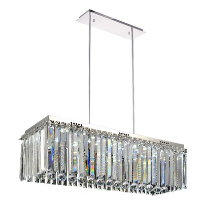 30-Light LED Kitchen Island Pendant