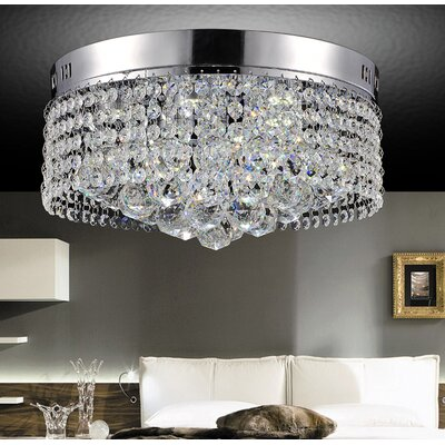6-Light Flush Mount