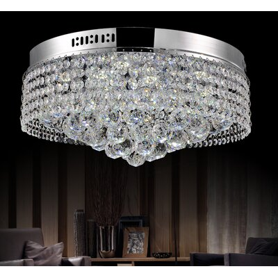 8-Light Flush Mount