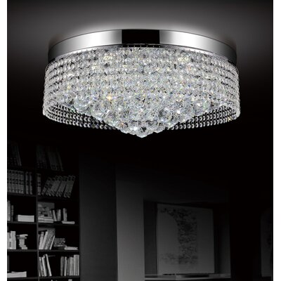 10-Light Flush Mount