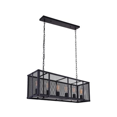 6-Light Chandelier Size: 12