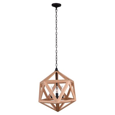 3-Light Geometric Pendant
