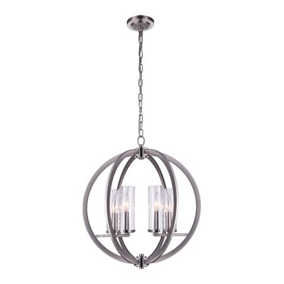 6-Light Globe Pendant