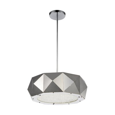 Rigelle 6-Light LED Drum Chandelier