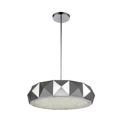 Rigelle 8-Light LED Drum Chandelier