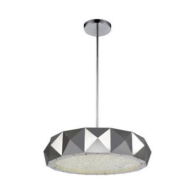 Rigelle 8-Light LED Drum Chandelier