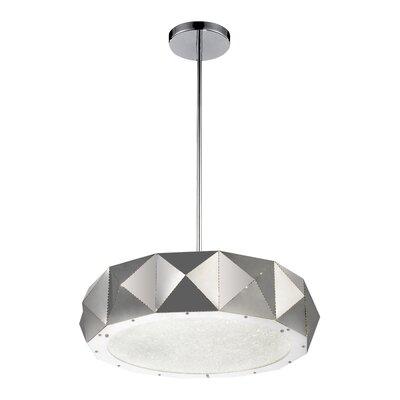 Rigelle 10-Light LED Drum Chandelier