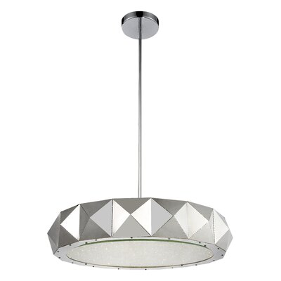 Rigelle 12-Light LED Drum Chandelier