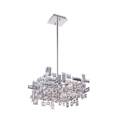 Arley 6-Light LED Drum Chandelier