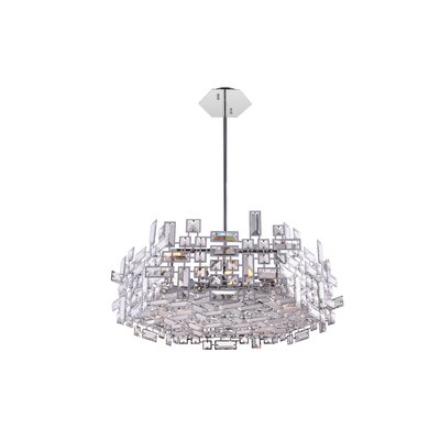 Arley 12-Light LED Drum Chandelier