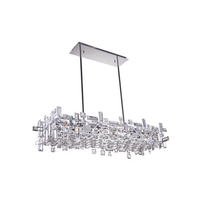 Arley 12-Light LED Crystal Chandelier