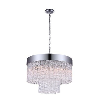 Carlotta 6-Light LED Drum Chandelier
