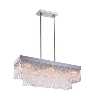 Carlotta 8-Light LED Crystal Chandelier