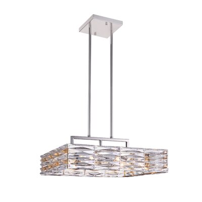 Squill 8-Light LED Drum Chandelier