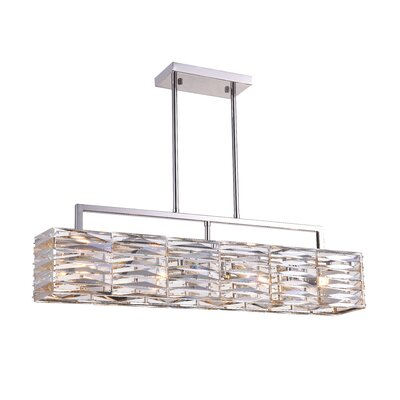 Squill 4-Light LED Drum Chandelier