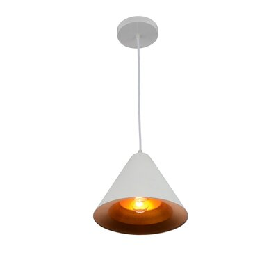 Keila 1-Light LED Mini Pendant Finish: Matte White