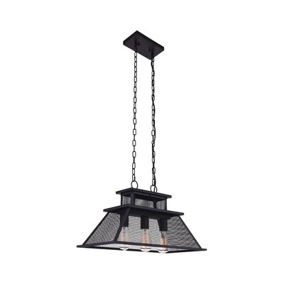 Savill 3-Light LED Drum Chandelier
