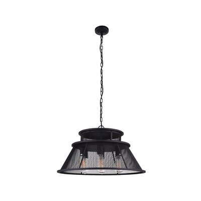 Savill 7-Light LED Drum Chandelier