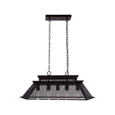 Savill 5-Light LED Drum Chandelier