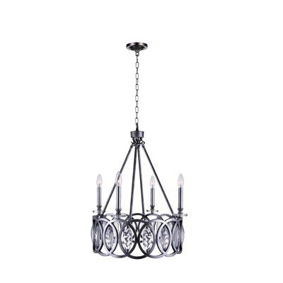 Attis 4-Light LED Candle-Style Chandelier