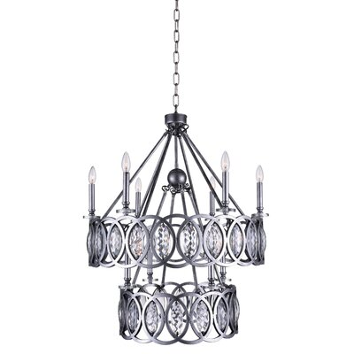Attis 10-Light LED Candle-Style Chandelier