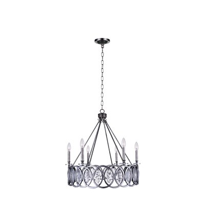Attis 6-Light LED Candle-Style Chandelier