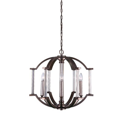 Marlia 6-Light LED Candle-Style Chandelier