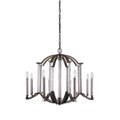 Marlia 8-Light LED Candle-Style Chandelier