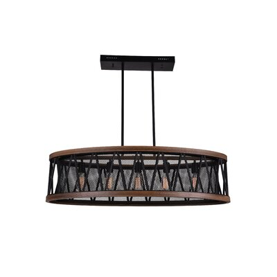 Parsh 5-Light LED Drum Chandelier
