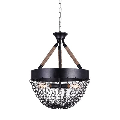 Mackenzie 3-Light LED Chandelier