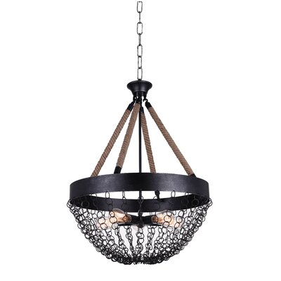 Mackenzie 5-Light LED Chandelier