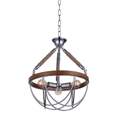 Parana 3-Light LED Mini Chandelier