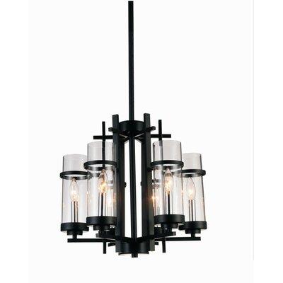 Sierra 6-Light LED Candle-Style Chandelier Size: 89 H x 18 W x 18 D