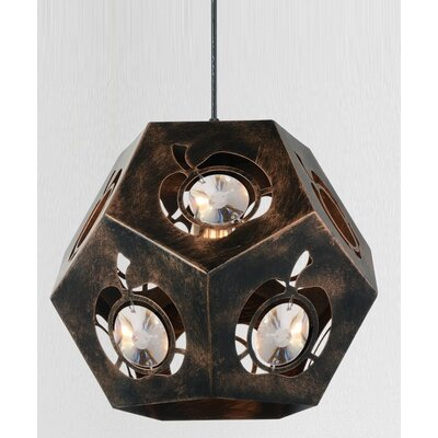 Sasha 1-Light Geometric Pendant