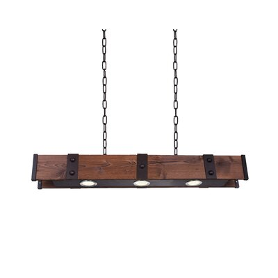 Pago 3-Light LED Kitchen Island Pendant