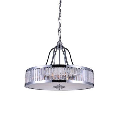 Belvoir 6-Light Drum Pendant