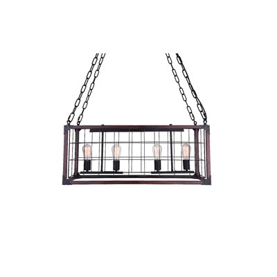 Fetto 4-Light Kitchen Island Pendant